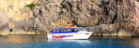 Mgarr Gozo to Comino Blue Lagoon Ferry